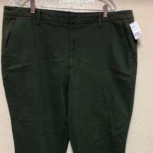 NorthCrest Green Pants Size 24W